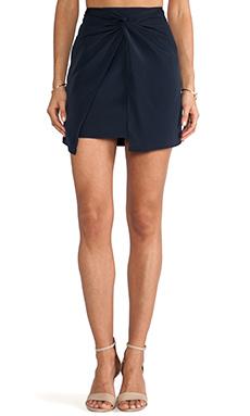 keepsake Enough Thunder Skirt in Navy