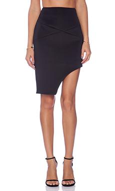 keepsake Fading Light Skirt in Black