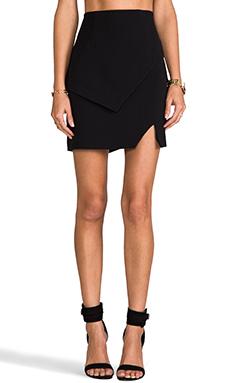 keepsake Tunnel Vision Skirt in Black