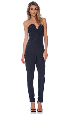 keepsake Run Free Pantsuit in Petrol