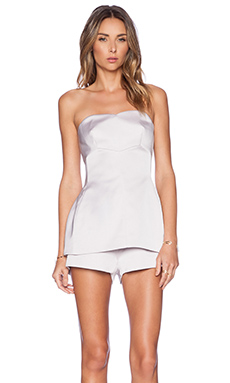 keepsake Let Go Playsuit in Lilac Ash