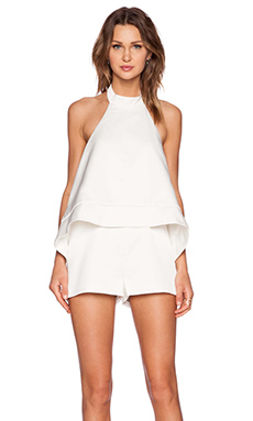 keepsake New World Romper in Ivory