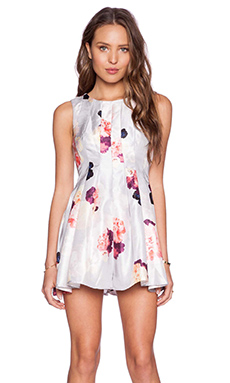 keepsake Another Day Playsuit in Light Flower Bloom