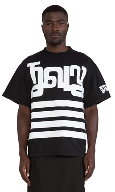 KTZ Medium Tee in Black/White