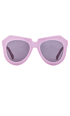 Karen Walker One Worship in Lavender and Gold