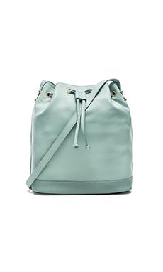 Benah by Karen Walker Enid Bucket Bag in Ice Mint