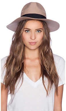 Lack of Color The Mirage Hat in Camel Brown