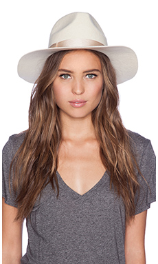 Lack of Color Ivory Bone Hat in Flecked Ivory