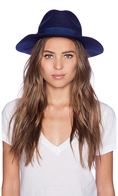 Lack of Color Nightfall Hat in Navy Blue