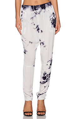 LACAUSA Willow Pants in Solar Night