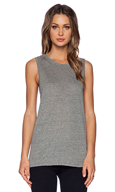 LACAUSA Heather Dad's T Tank in Gravel