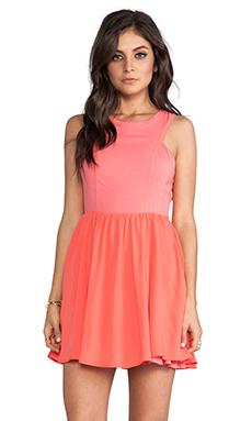 Ladakh Heavenly Dress in Pink Grapefruit