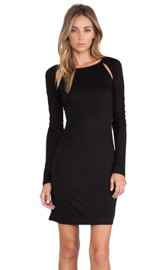 Ladakh Chill Out Dress in Black