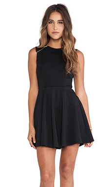 Ladakh Escapee Dress in Black
