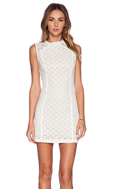Ladakh Barcelona Dress in White