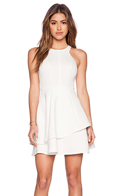 Ladakh Undivided Neoprene Dress in White