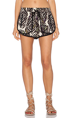 Ladakh Spellbinder Print Shorts in Multi
