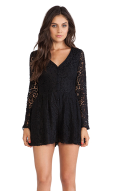 Ladakh Elsa Romper in Black