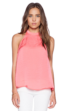 Ladakh Lace Back Cami in Lipstick