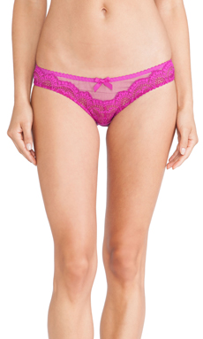 L'Agent by Agent Provocateur Vanesa Mini Brief in Cerise