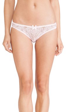 L'Agent by Agent Provocateur Idalia Mini Brief in Baby Pink