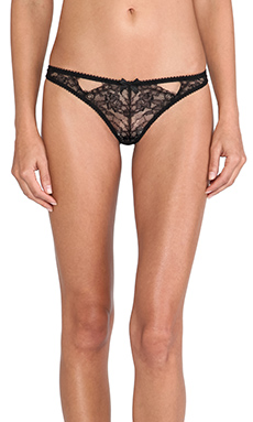 L'Agent by Agent Provocateur Idalia Thong in Black