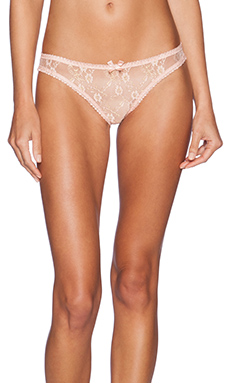L'Agent by Agent Provocateur Monica Mini Brief in Fawn & Gold
