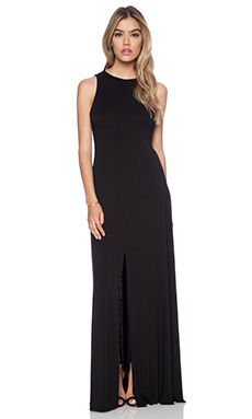 La Made Sophi Maxi Dress in Black
