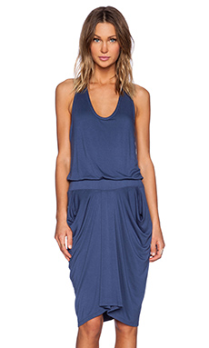 La Made Jemma Razer Dress in Blue Jay