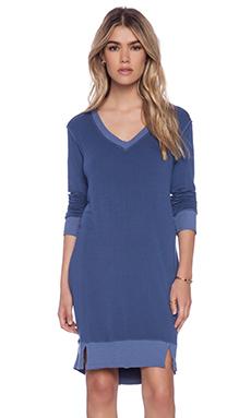 La Made Alina Dress in Blue Jay