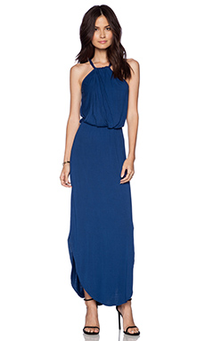 LA Made Halter Maxi Dress in Starry Night