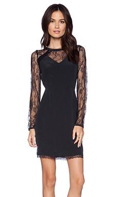 La Made Lace Shery Dress in Black