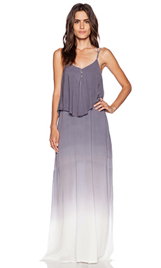 LA Made Eden Maxi Dress in Midnight