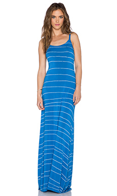 LA Made Cami Maxi Dress in Azul