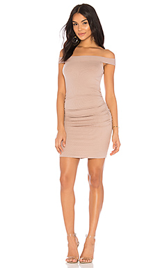 Lyla Dress in Taupe. - size L (also in M,S,XS) La Made