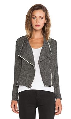 LA Made London Zip Jacket in Black