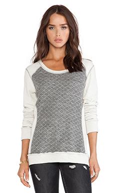 LA Made Ruxbin Reversible Pullover in Grey & Cream