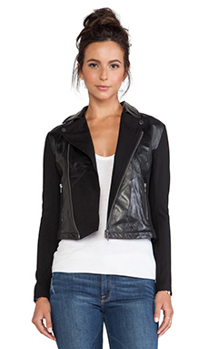 LA Made Moto Jacket in Black
