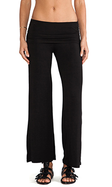 LA Made Lounge Pant in Black