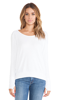 LA Made Conway Thermal Top in White