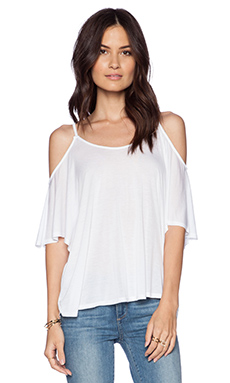 LA Made Butterfly Top in White