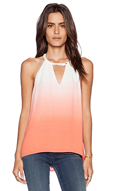 LA Made Stella Top in Coral