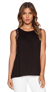 LA Made Lilianne Tank in Black