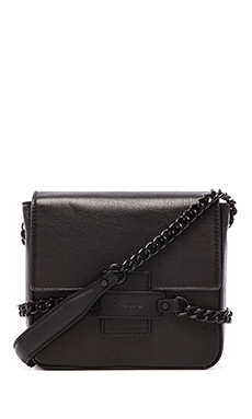 Lamb Fabiola Crossbody in Black