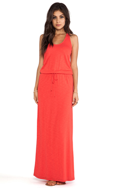 Lanston Racerback Maxi Dress in Fire