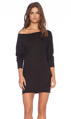 Lanston Boyfriend Mini Dress in Graphite