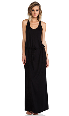Lanston Racerback Dress in Black