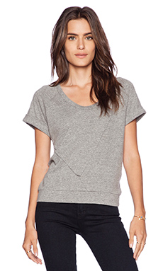 Lanston Short Sleeve Pullover in Heather