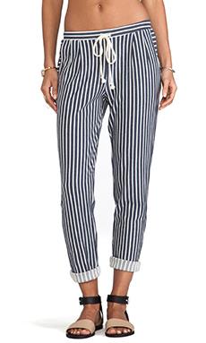 Lanston Boyfriend Pant in Stripe