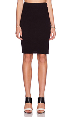 Lanston Pencil Skirt in Black